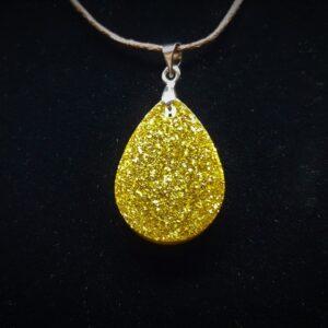 Pandantiv EpoGlitter Gold Drop
