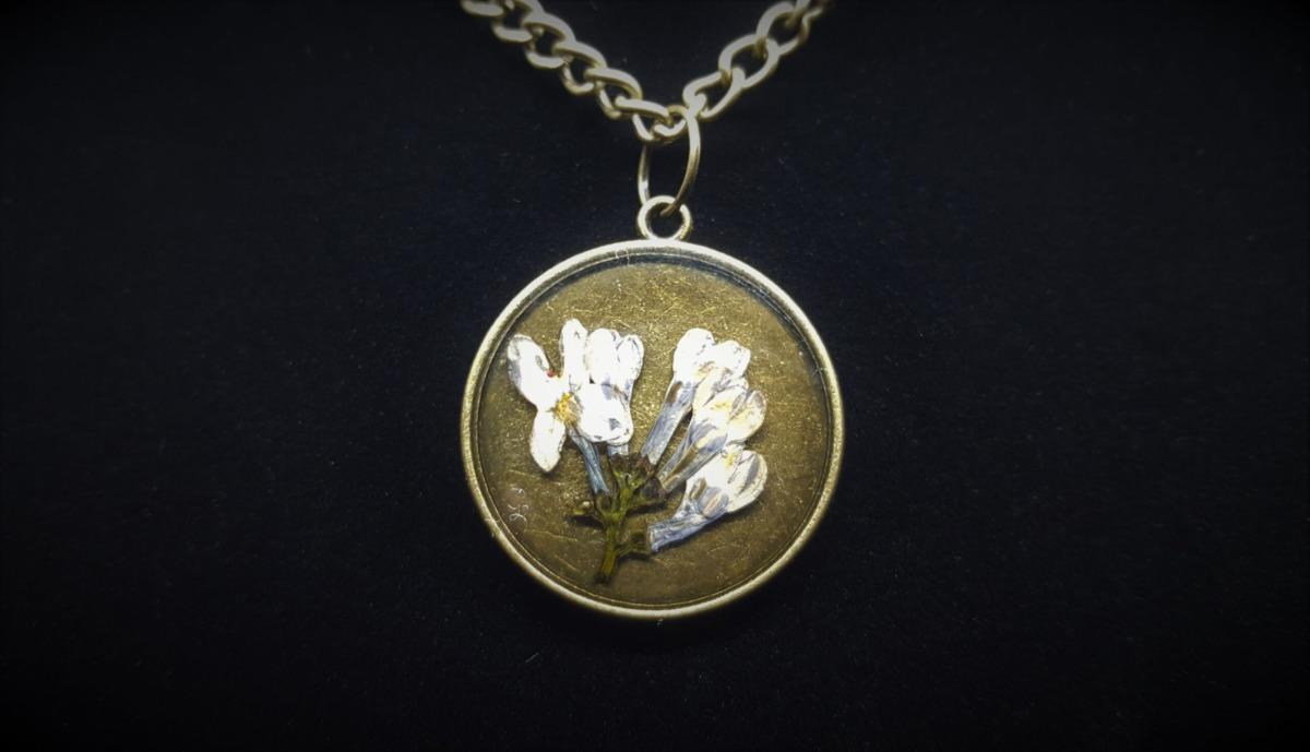 Pandantiv EpoVintage Bouquet